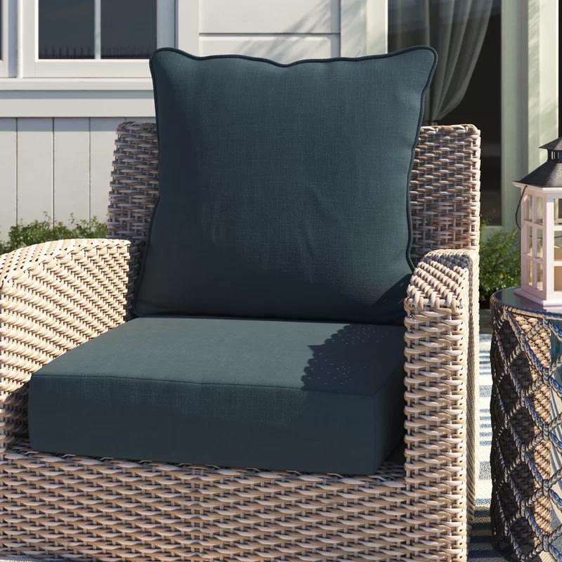Acuna Woven Outdoor Seat Back Cushion Replacement Patio Cushions Outdoor Cushion Covers Outdoor Cushions