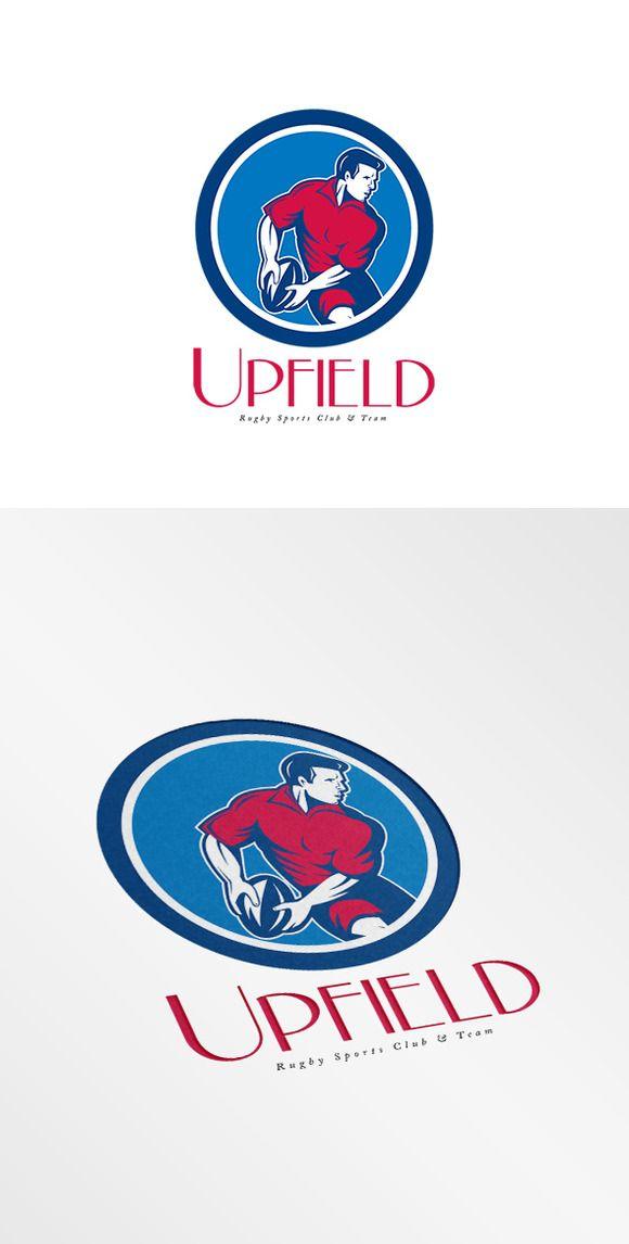 upfield rugby sports club logo pinterest rugby sport logos and rh pinterest com car club logos design car club logo maker
