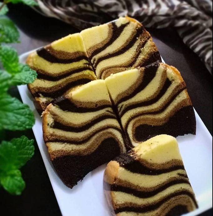Resep Cara Membuat Ogura Cake Macan Kue Lezat Makanan Makanan Penutup