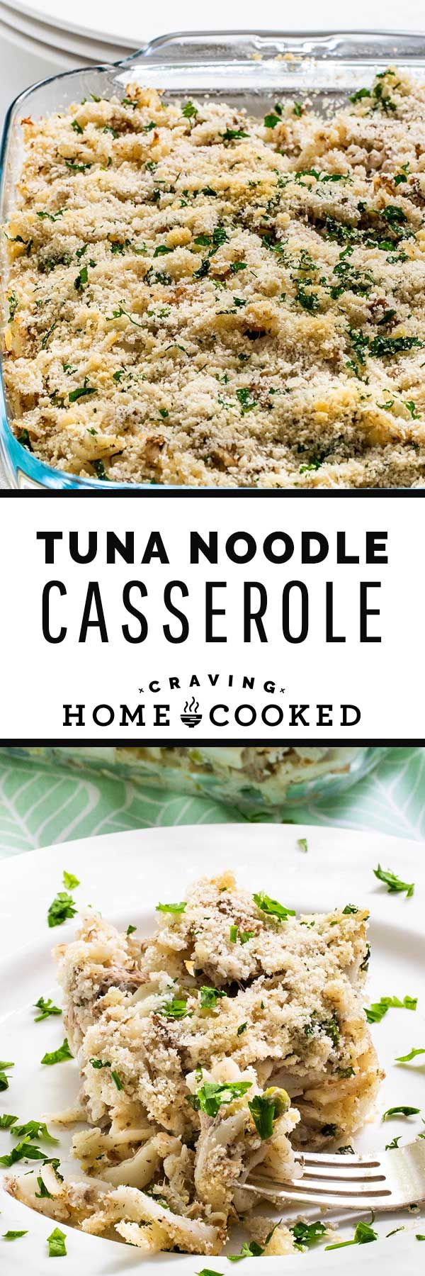 tuna noodle casserole is a classic for a reason packed