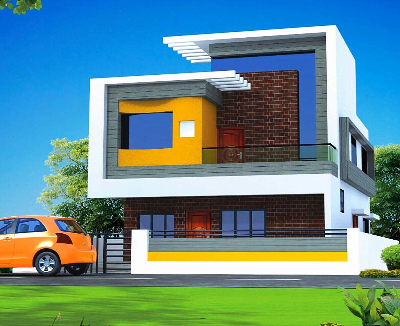 Pin by sandeep borchate bb on bunglows casas casas - Decoraciones de casas modernas ...