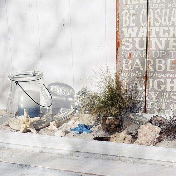 Photo of Deko im Beach-House-Look: Ein schöner Beitrag von White and Vintage