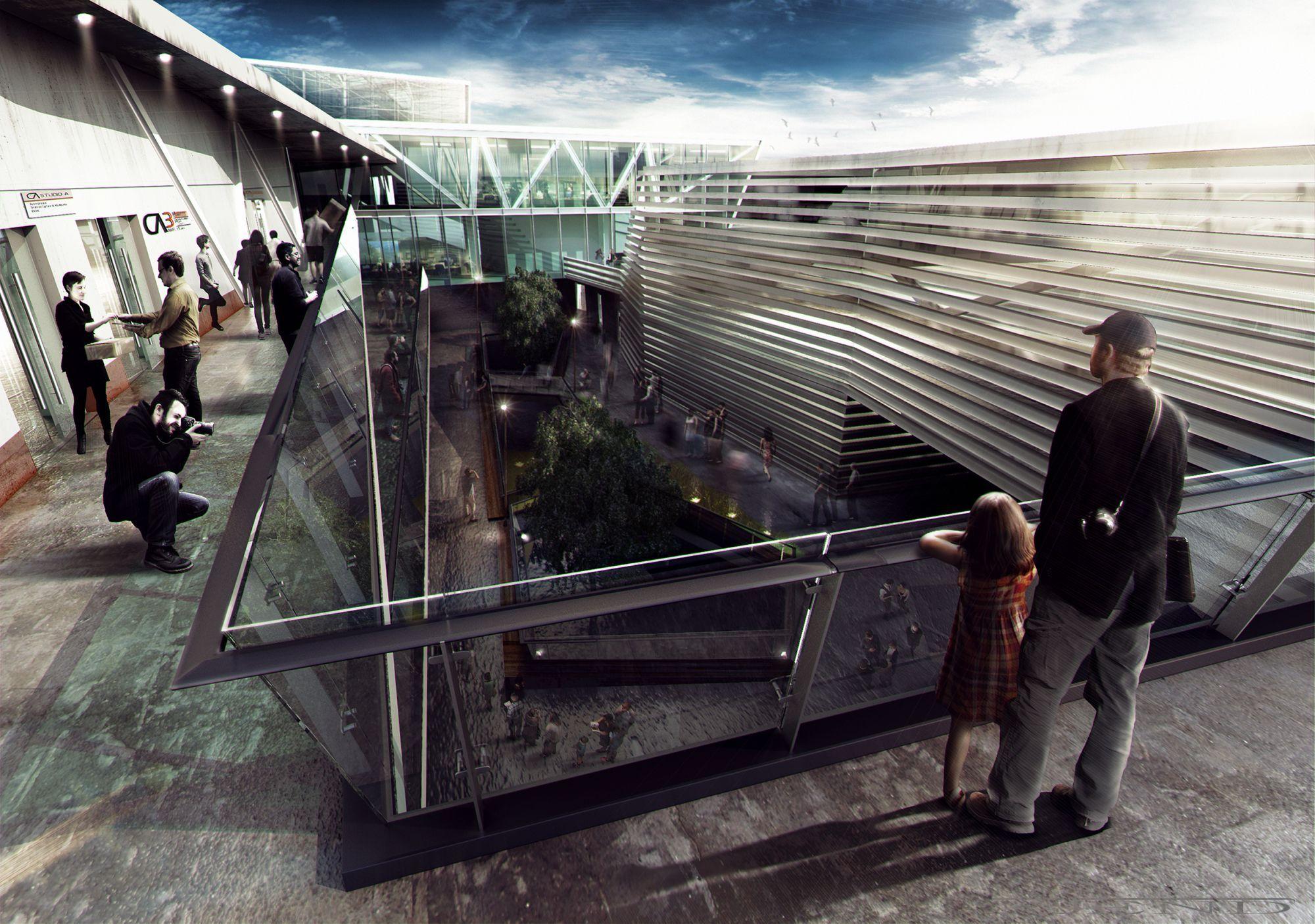 CGarchitect - Professional 3D Architectural Visualization User Community | Centro del Séptimo Arte (C7A)