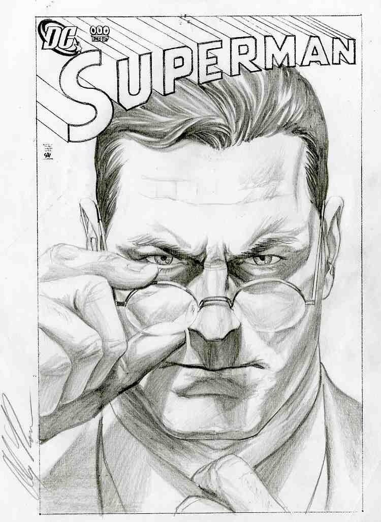 Superman Glasses by Alex Ross From Rough Justice