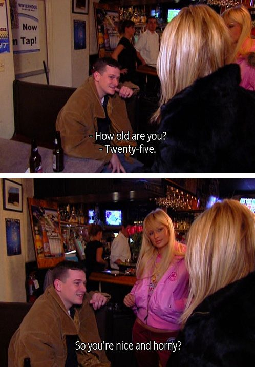 That Time Nicole Got Right To The Point Paris And Nicole Simple Life Paris Hilton Quotes