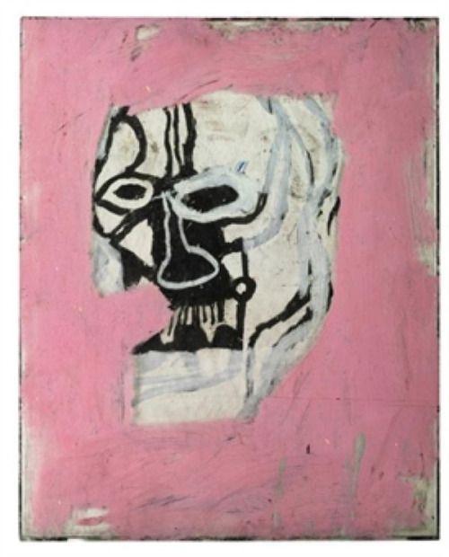 JEAN-MICHEL BASQUAIT - Untitled ( Skull), 1983/4