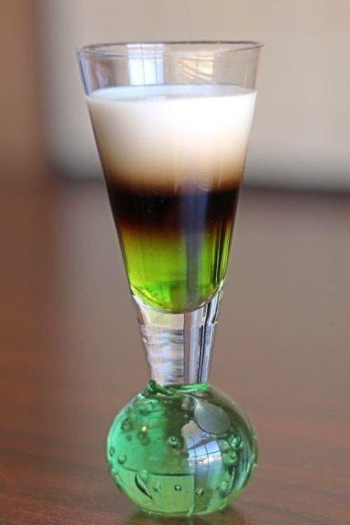 Quick Fox Mix That Drink Cocktail Shots Alcoholic Drinks Melon Liqueur