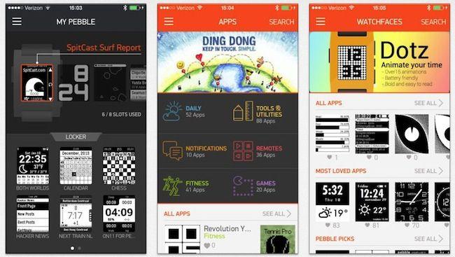 Pebble Smartwatch, la nueva tienda de aplicaciones del