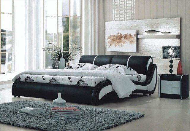 Lozko Ze Skorzanym Obiciem Meble Metaloplastyka Sklep Decoart24 Furniture Luxurious Bedrooms Mattress Furniture
