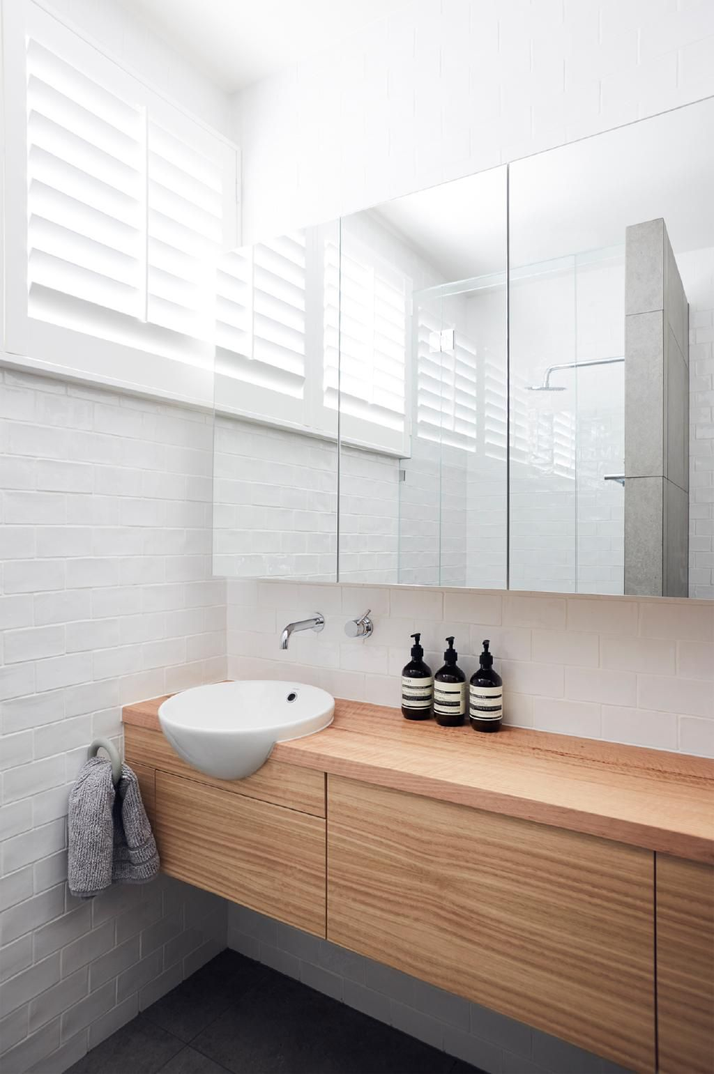 quality not quantity see inside this minimalistic on bathroom renovation ideas melbourne id=50185