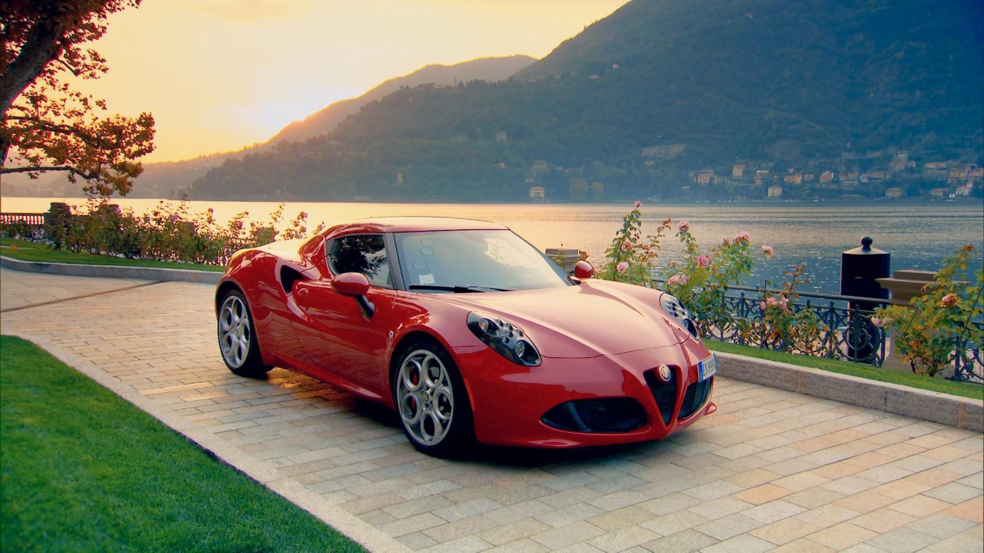 Red Alfa Romeo 4c Photo Wallpaper Alfa Romeo Car In The World