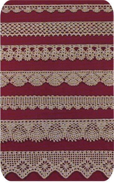 Free Easy Crochet Lace Edging | CROCHETED LACE EDGING PATTERNS ...