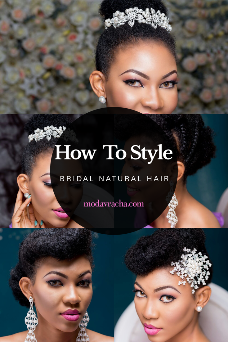How To Style Bridal Natural Hair A Nigerian Naturalista S Bridal