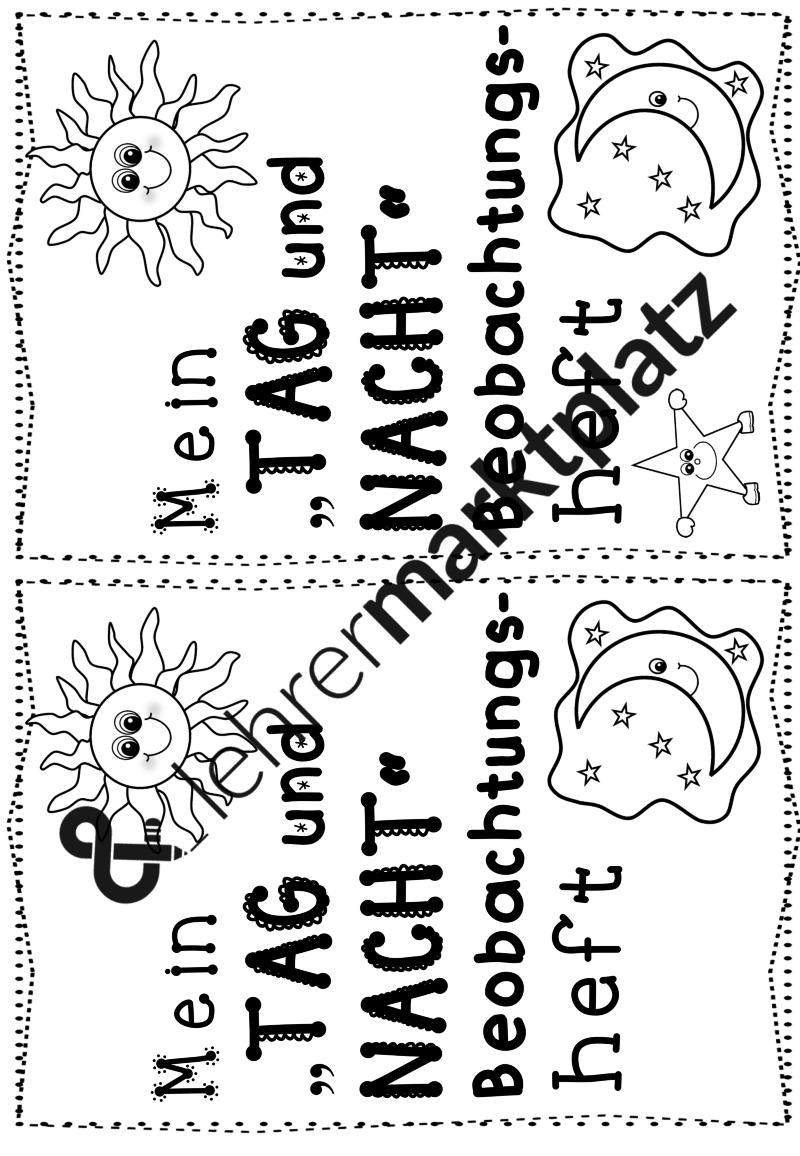 Tag und Nacht – Sachunterricht | Sachunterricht in der Grundschule ...