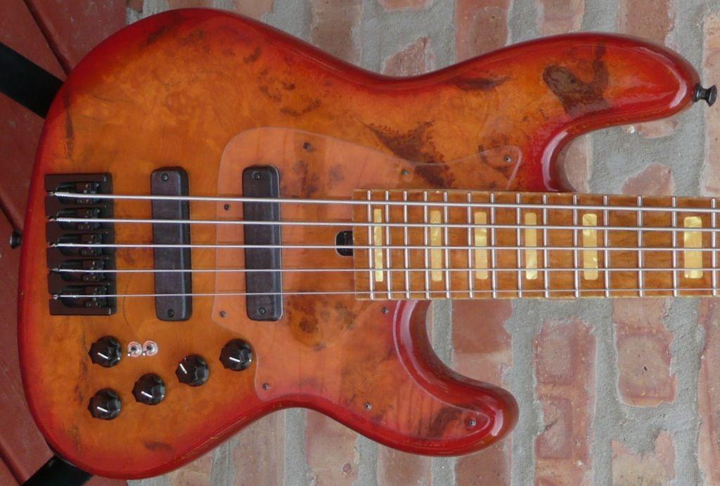 Marco TFL custom 5 string bass