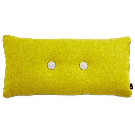 Hay Dot Cushions Kissen Gelb Textilien