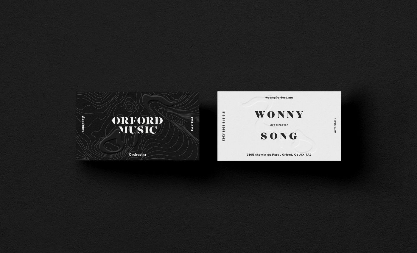Orford Music on Behance