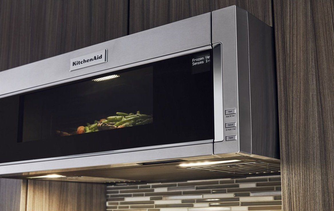 Kitchenaid 1 1 Cu Ft Low Profile Microwave Hood Combination