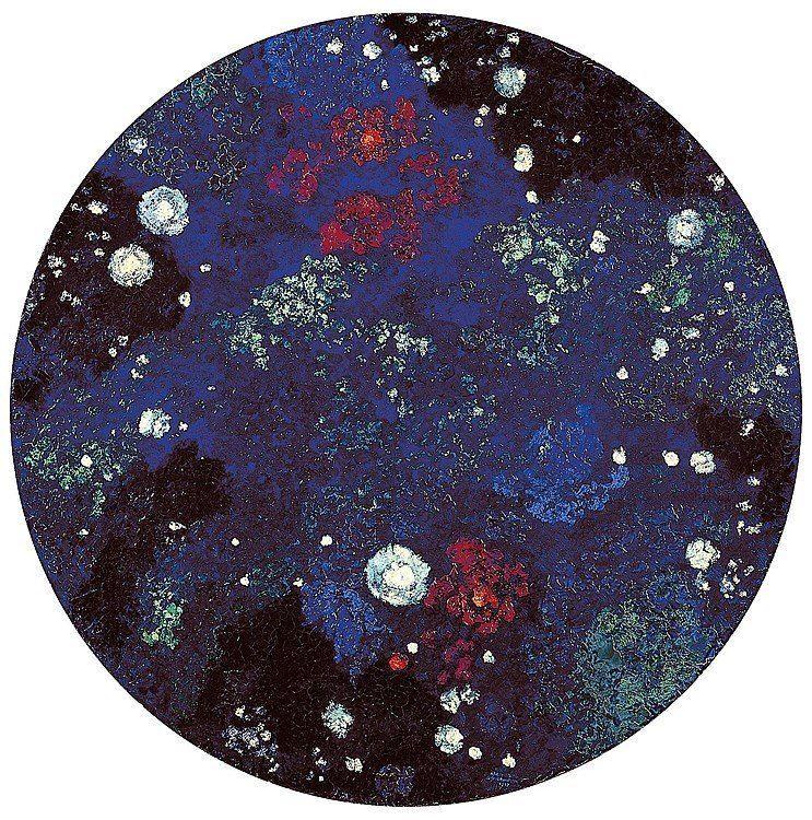 "dappledwithshadow: "" Starry Sky (also known as Milky Way) Augusto Giacometti 1917 """