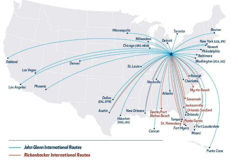 Image result for airport routes Chicago ord, Detroit