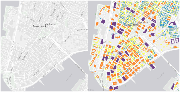 ESRI announces Canvas Maps, pared down map styles for overlays / via kelso