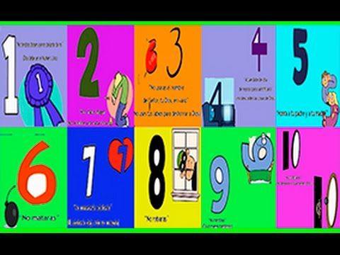 Aprender Los Diez Mandamientos éxodo 20 Youtube Los Diez Mandamientos Los 10 Mandamientos Palabra De Vida