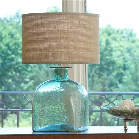 Great Apothecary Glass Jug Table Lamp
