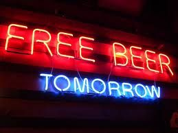 free beer tomorrow - Google Search | Neon Signs and ...