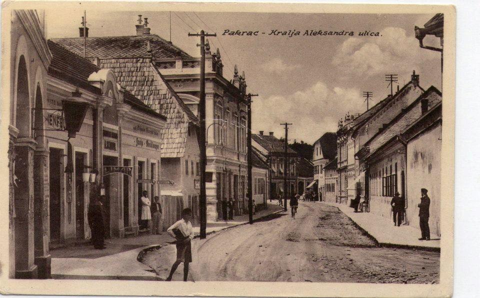 Pakrac Postcard Scenes Street View