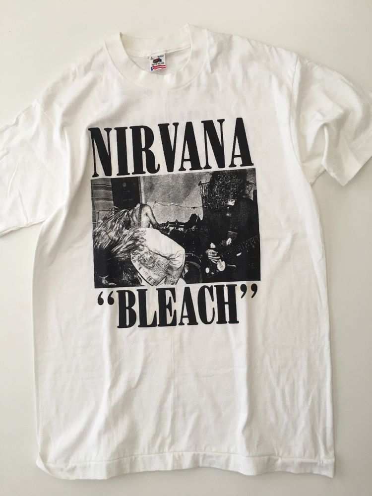 108e38397 Vintage Nirvana Bleach Dead Stock Shirt - Large #Nirvana | Vintage T ...