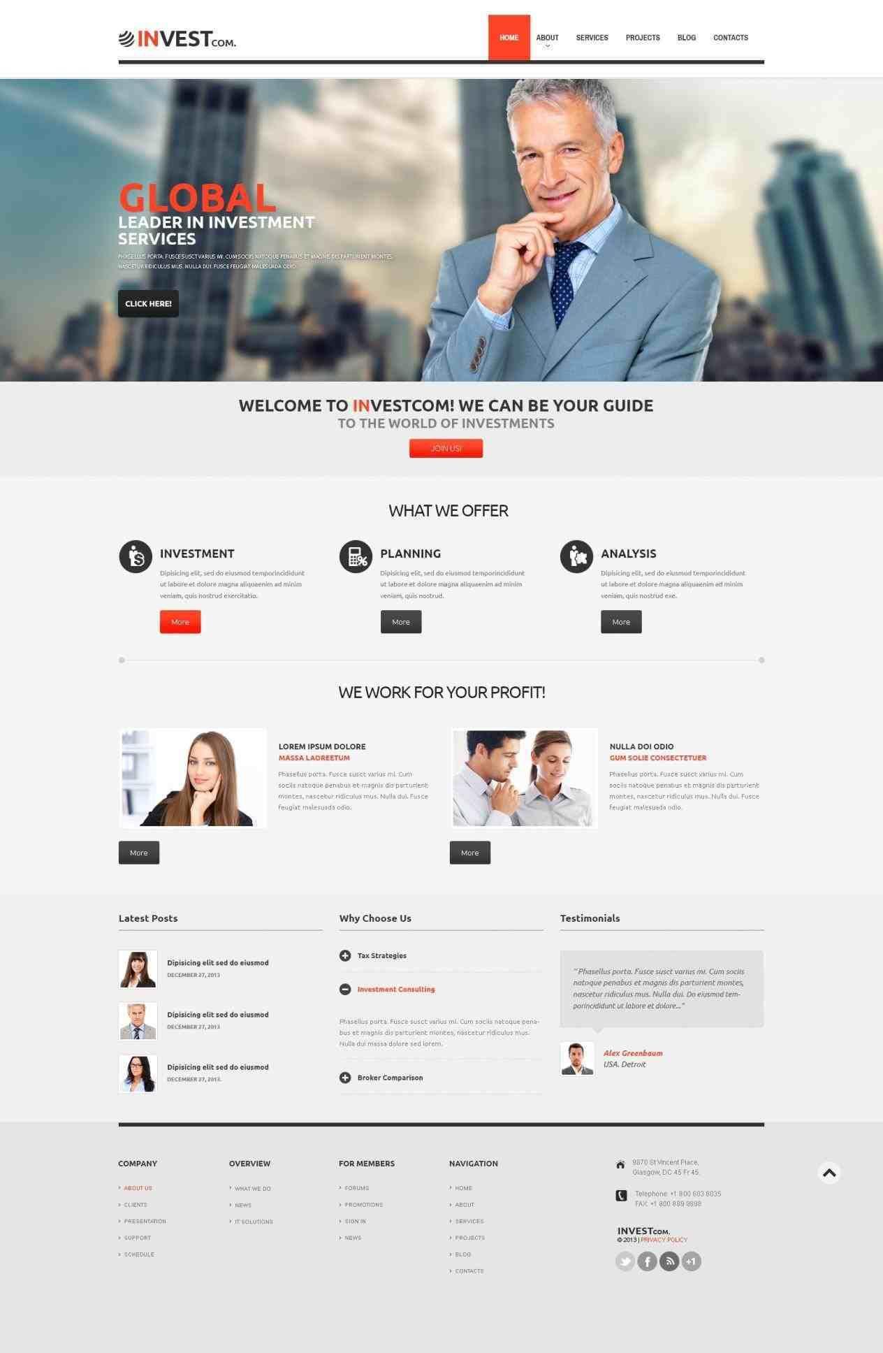 templates brand design navigator financial advisor newsletter