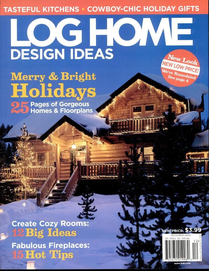 House · Log Home Design   Magazine ...