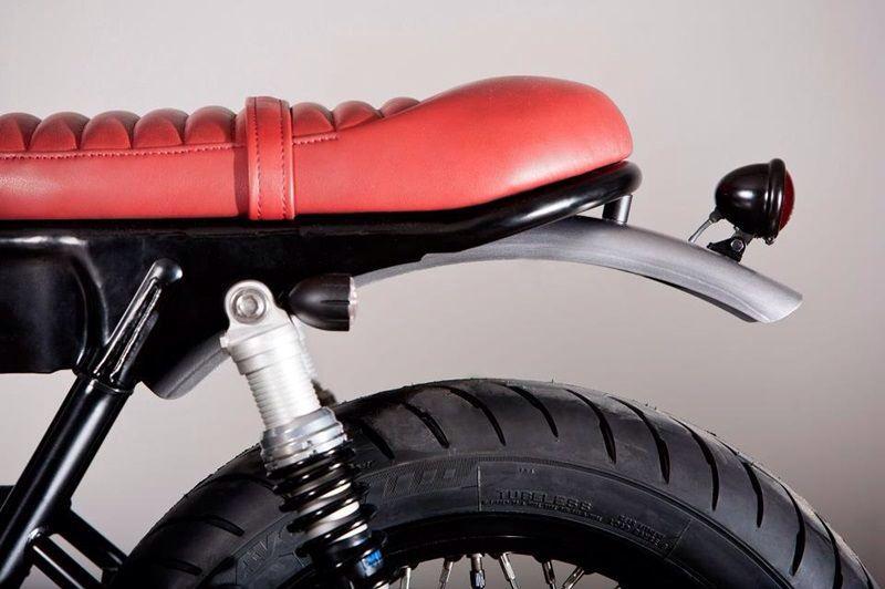 Best Seat For Rx100 Triumph Bonneville Yamaha Cafe Racer