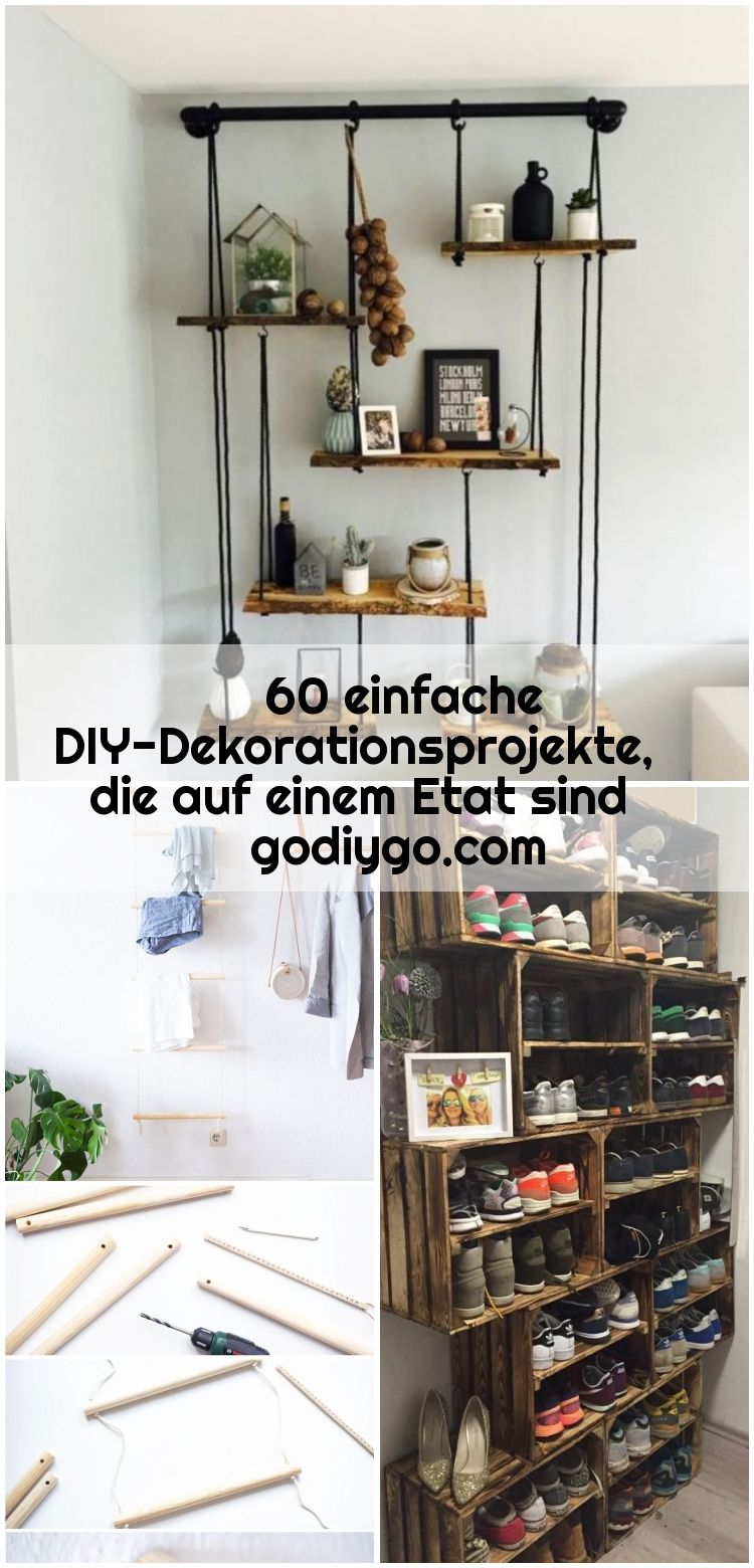 60 einfache DIY-Dekorationsprojekte, die auf einem Etat sind godiygo.com , 60 einfache DIY-Dekorationsprojekte, die auf einem Etat sind godiygo.com / ... #dekorationsprojekte #einem #einfache #godiygo... ,  #auf #die #DIYDekorationsprojekte #einem #Einfache #Etat #godiygocom #sind
