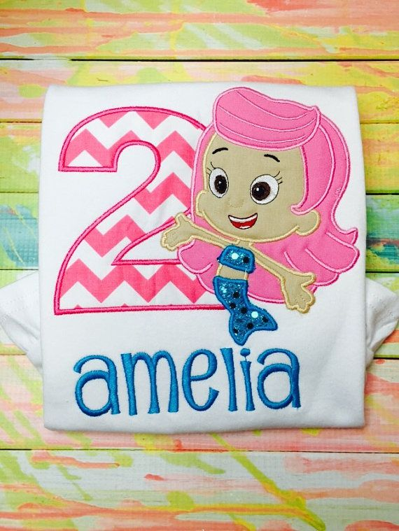 Bubble Guppies Birthday Shirt by SWDdesigns on Etsy (With ...