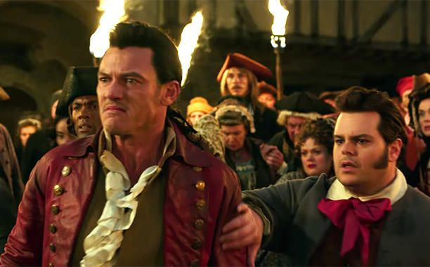 Beauty and the Beast 2017 Gaston and Le Fou although i dont like who they cast for belle ill watch it for these two