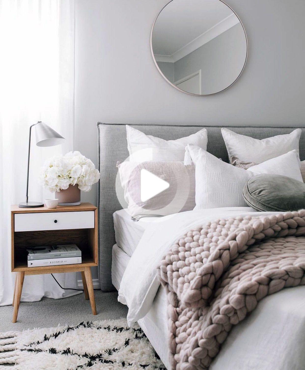 27 Grey Scandinavian Interior Bedroom Ideas You Must Try In 2020 Scandinavian Design Bedroom Apartment Bedroom Decor Scandinavian Interior Bedroom