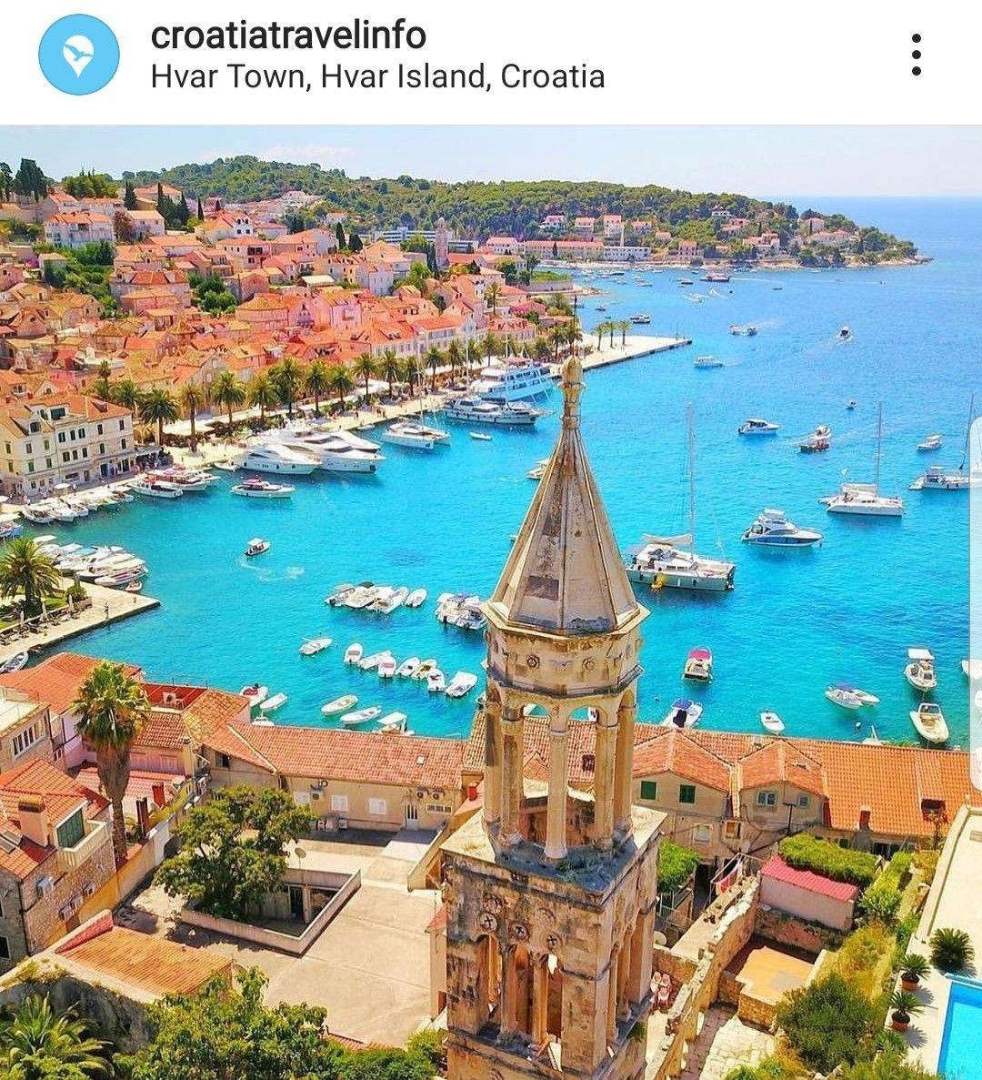 Pin Von Yildirim Zanajana Auf Best Of Croatia Old State Hvar Kroatien Kroatien Urlaub Schone Orte