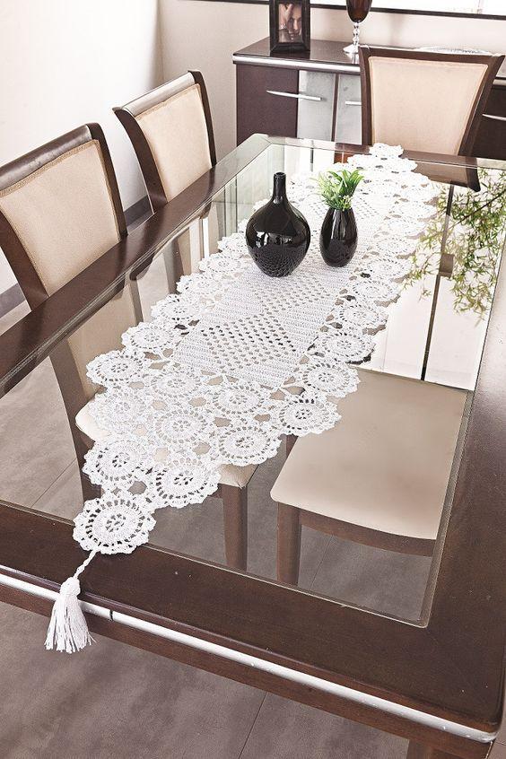 40 Crochet Farmhouse Table Dish Towel Pattern Design #dishtowels