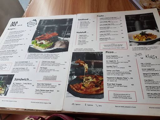 Food Menu From I Am At Haji Lane  Singapore Foodie