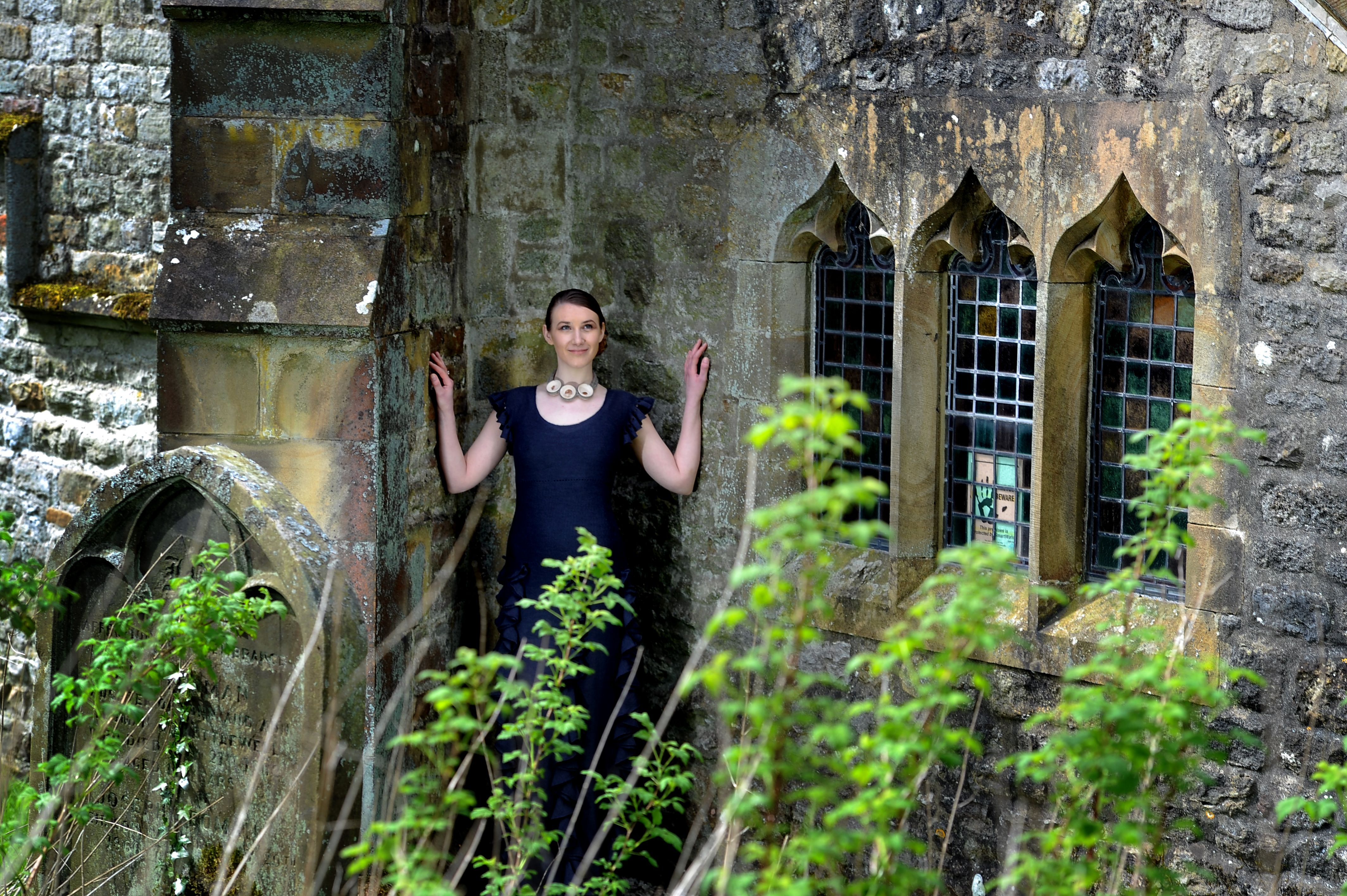 Gorgeous picture by James Hardisty for the Yorkshire Post fashion show shoot