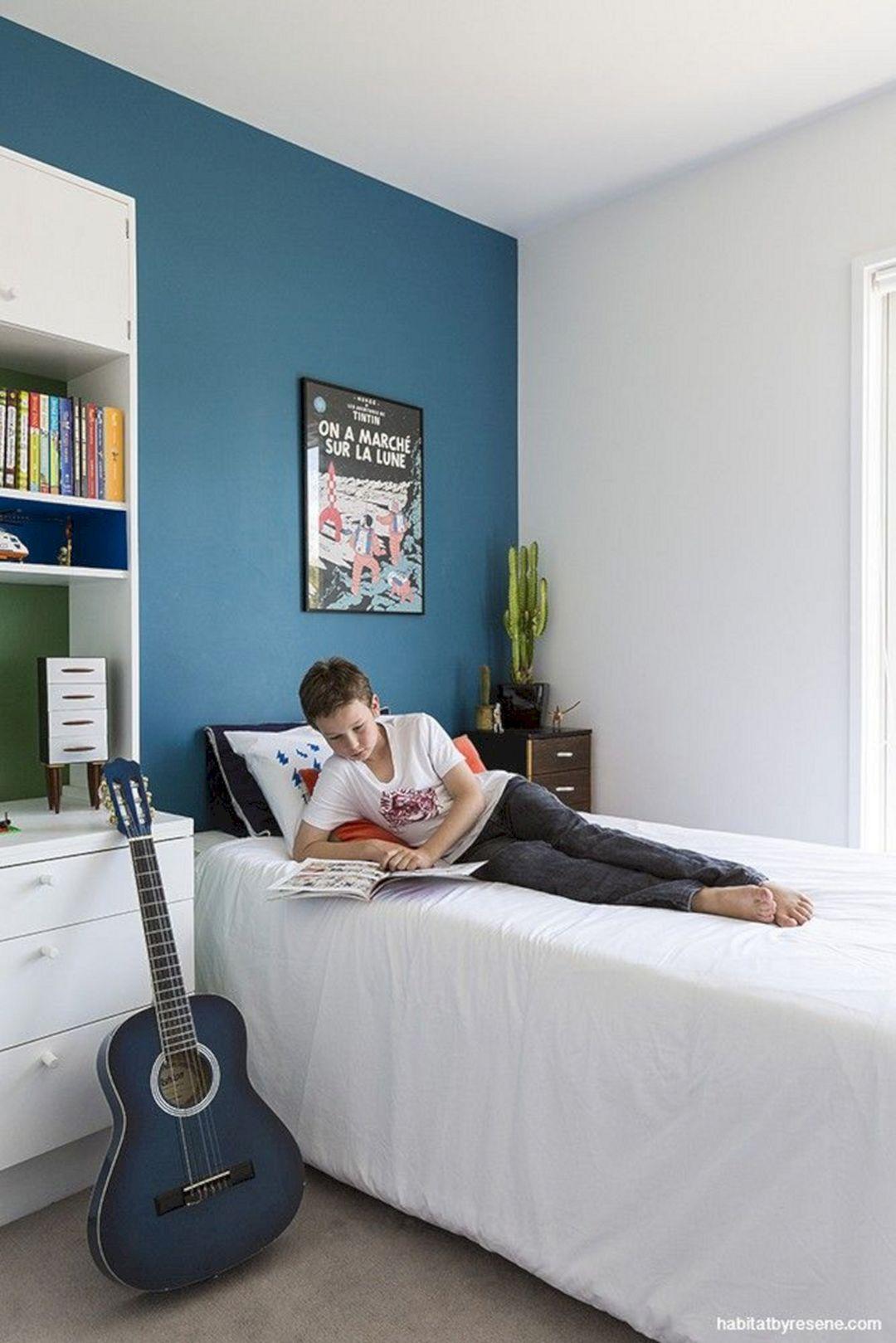 24 Best Bedroom Wall Decor Ideas for Your Boys | Boys room blue