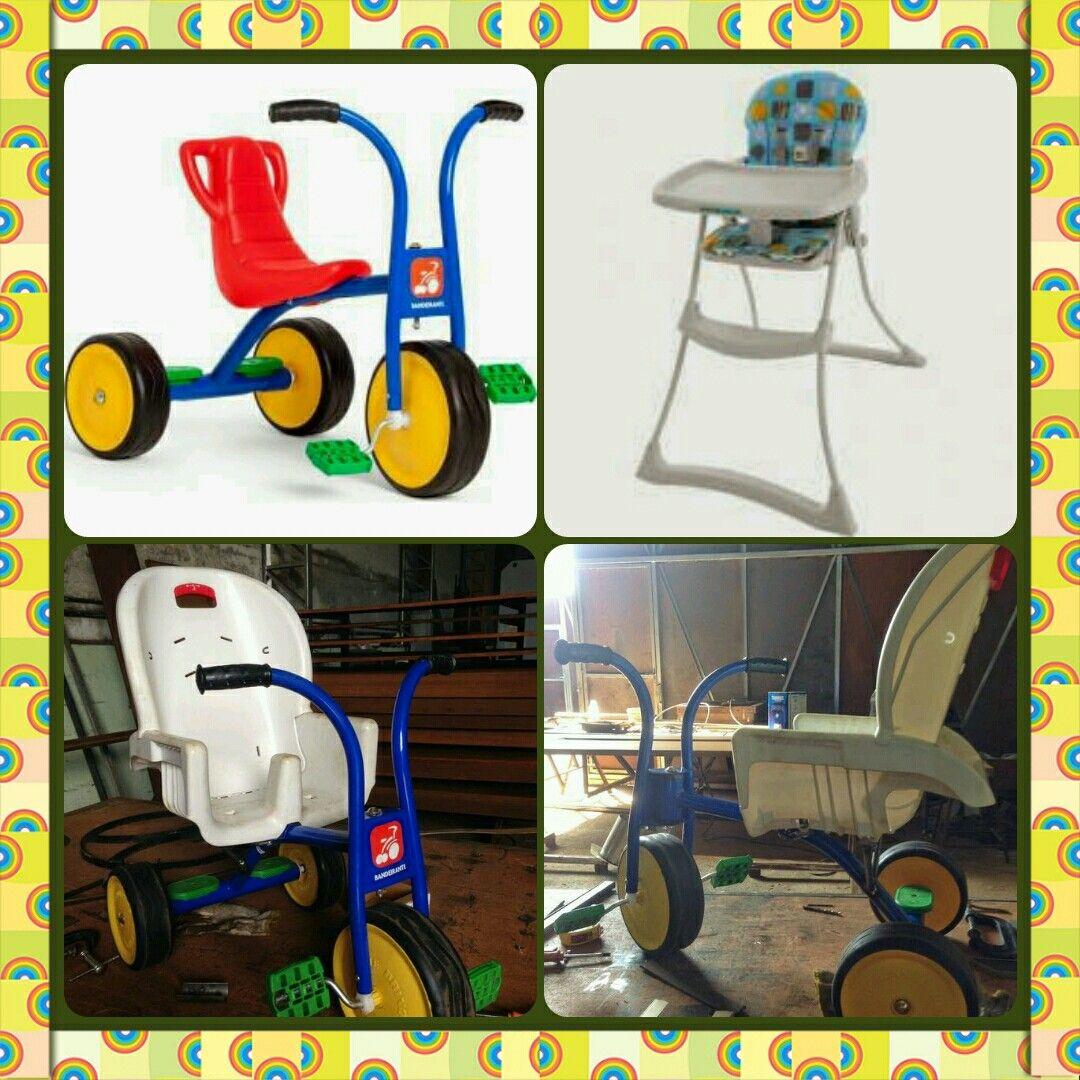 Adaptação para triciclo