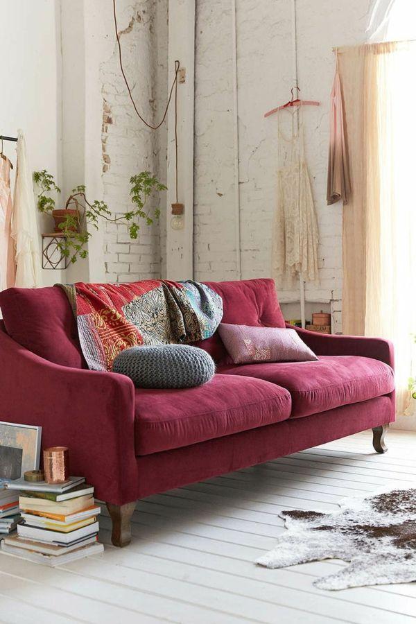 Mettez un meuble rouge pour enrichir l\'intérieur! | Dans la maison ...