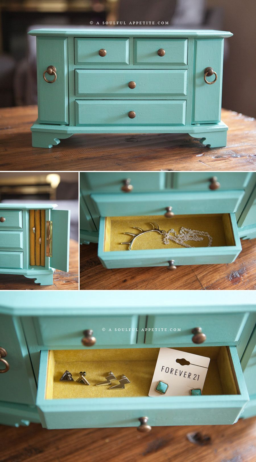 Diy jewelry box plans ideas and makeover jewelrybox