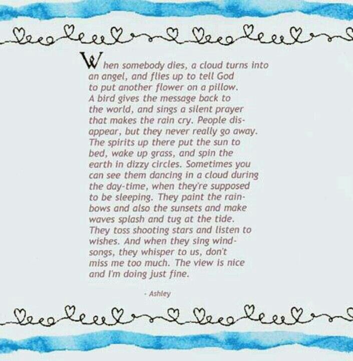 When Somebody Dies Love This Poem Can T Tell You How Many