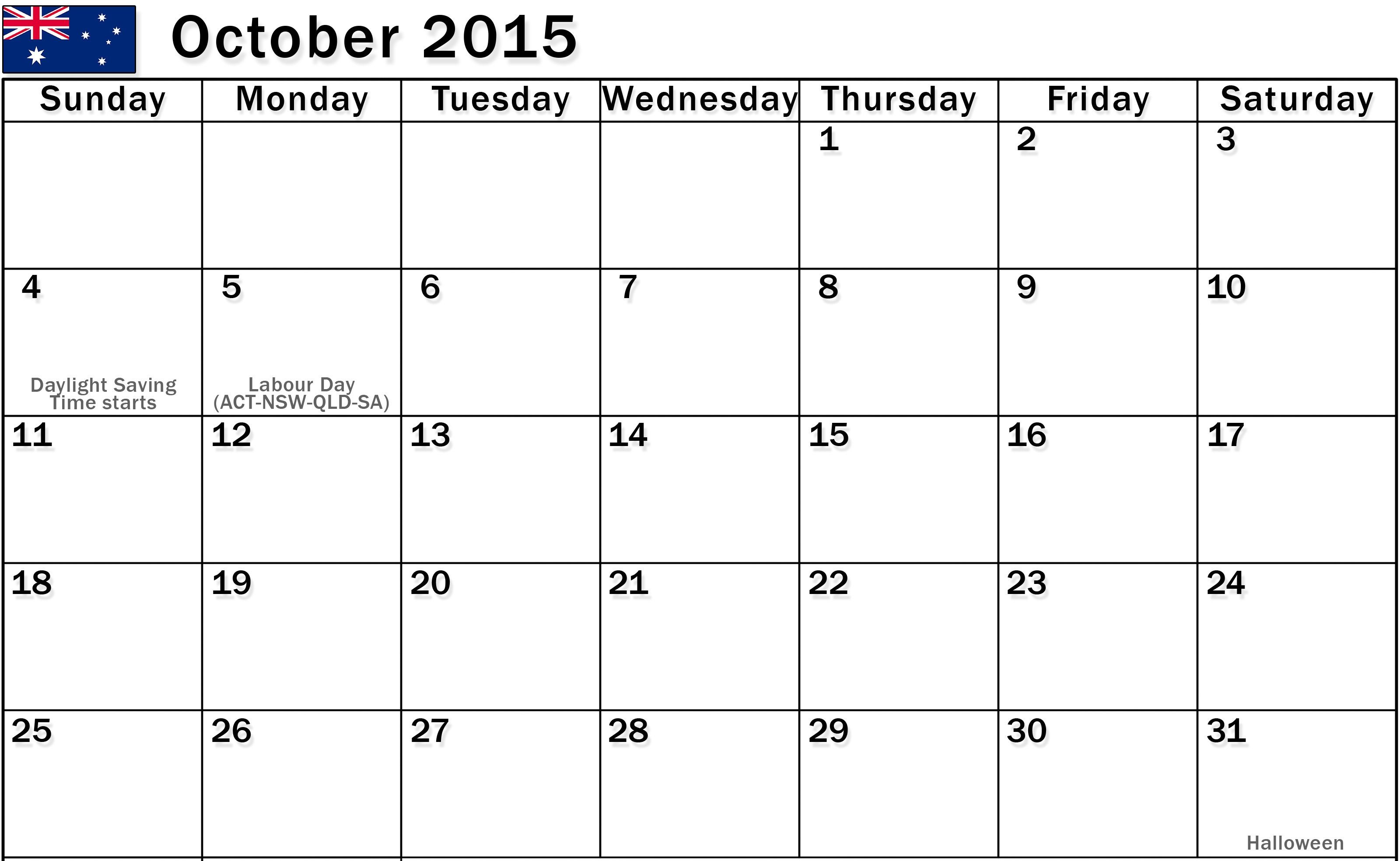 October 2015 Calendar Moon Printable Pdf Pictures Images Templates Holidays Events Usa Uk Free Printable Calendar Calendar Printables September Calendar