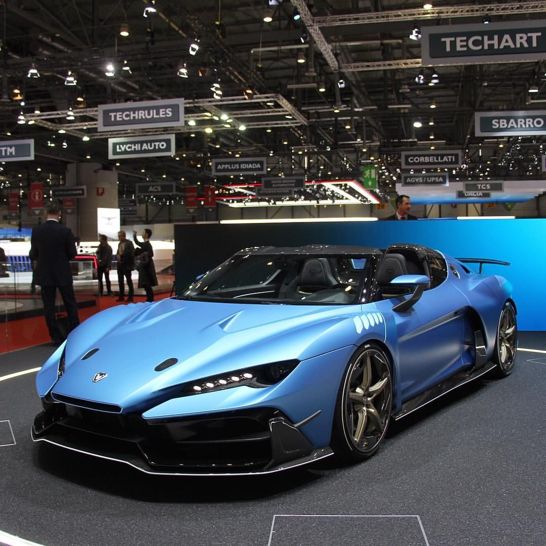 Top 10 Luxury Sports Cars: ItalDesign Zerouno Duerta - Genève (With Images)