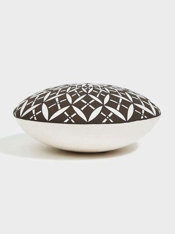 Fine Line Geometric Seed Jar | DARA Artisans
