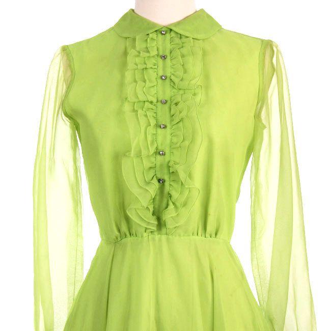 sort green dress